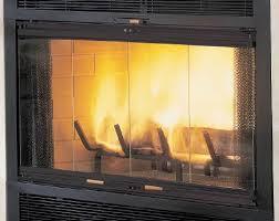 modern glass fireplace doors contemporary decoration wood burning fireplace glass doors heater