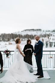 chair rentals ta modern wedding winter wedding devils thumb ranch