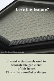 Decorative Pressed Metal Panels Pressed Metal Panels Can Be Used Outdoors Too This Is The
