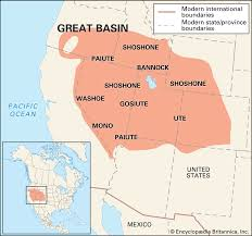 Map Of The United States Great Lakes by Newsela Native American Cultures The Great Basin