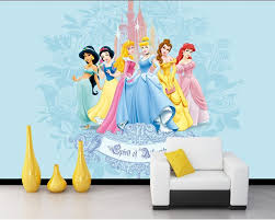 popular princess wall paper buy cheap princess wall paper lots custom 3d murals beautiful sweet cartoon princess living room sofa tv wall children bedroom