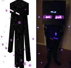 minecraft costumes diy create your own minecraft enderman costume