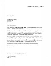 cover letter formal cover letter examples formal proposal cover