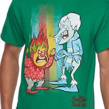 the most iconic rankin bass characters known as the heat miser and