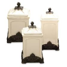 tuscan style kitchen canister sets buy arthur court designs grape tuscan canister from bed bath