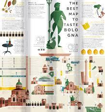 Bologna Italy Map by Taste Bologna A Logo And Map Design Experience By Riccardo Pagliani