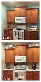 how to update rental kitchen cabinets awesome rental kitchen update faux marble countertop ud contact