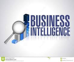 business intelligence concept illustration design stock images