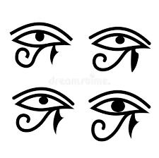 eye of horus stock vector illustration of religion symbolic