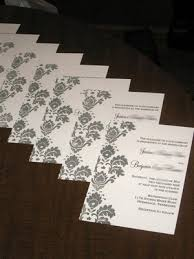 wedding invitations embossed designing the invitations part 2 an embossing tutorial
