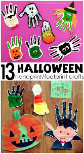 Halloween Craft Ideas For Toddlers - adorable handprint footprint halloween crafts crafty morning