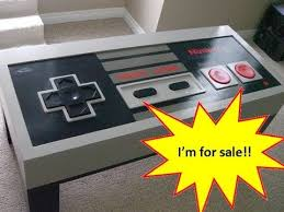 How To Make An Engine Coffee Table Giant Nes Controller Coffee Table Sold Youtube