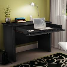 tables foldable computer desk classic mission style pull out