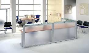 White Gloss Reception Desk Desk Compact Reception Desk Furniture Compact Curved Reception