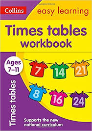 help learning times tables times tables workbook ages 7 11 new edition collins easy learning