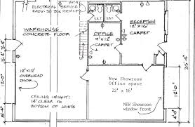 Commercial Office Floor Plans Warehouse Layout Floor Plan