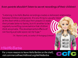 facebook themes barbie hell no barbie 8 reasons to leave hello barbie on the shelf
