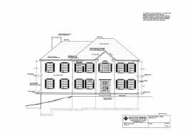 Hip Roof Colonial House Plans Crystal Spring Lane Groton