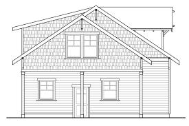 cottage house plans garage w rec room 20 111 associated designs 2 car garage plan 20 111 left elevation