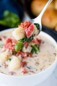 Pure Comfort Creamy Spinach Tomato Gnocchi Soup