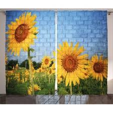 sunflowers decorations home sunflower home decor wayfair