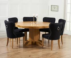 6 Black Dining Chairs Indoor Chairs Quality Table With 6 Chairs Kitchen