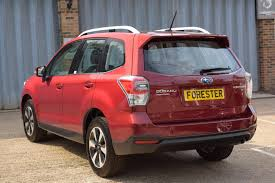 subaru forester red used 2017 subaru forester 2 0i xe premium for sale in west sussex