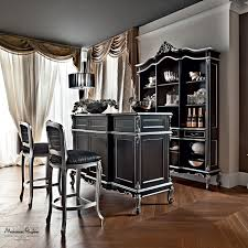 bar with tea corner and classic furniture inspired to the middle