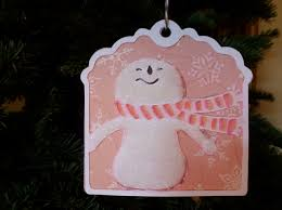 very merry christmas gift tag and ornament paper craft u0026 scissors