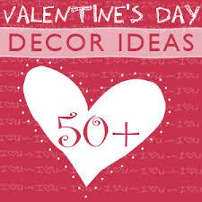 Valentine S Day Decorations Ideas by Easy Valentine U0027s Day Heart Garland