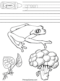 coloring pages endearing green coloring pages green coloring