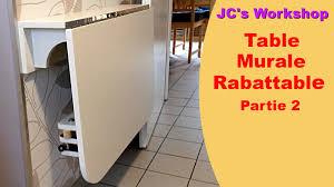 Plan De Table En Bois by Comment Faire Une Table De Cuisine Murale Rabattable 2 2 Travail