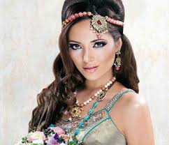 Trendy Pakistani Bridal Hairstyles 2017 New Wedding Hairstyles Look New Stylish Best Matha Patti Or Maang Tikka Hairstyles For Party