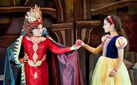 a christmas snow a snow white christmas theater review latimes