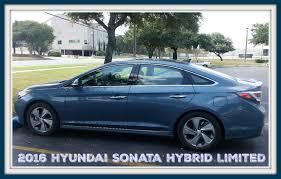 2016 hyundai sonata hybrid limited a smooth operator drivehyundai