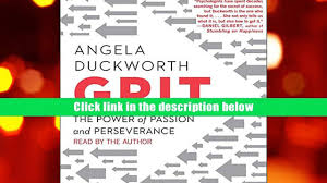 pdf grit the power of passion and perseverance angela duckworth