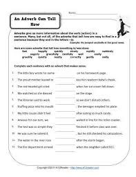 4th grade adjectives worksheets worksheets