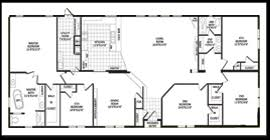 Double Wide Floor Plans With Photos Floorplans For Solitaire Homes Manufactured Homes In Tx Ok And Nm