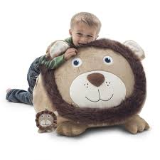 Oversized Bean Bag Chair Amazon Com Big Joe Bean Bagimal Leo The Lion Kitchen U0026 Dining