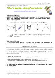 Science Worksheet Separation Of Mixtures Worksheet Worksheets Reviewrevitol Free