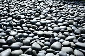 Garden Stones And Rocks Black Pebble Landscape Rock Black Garden Stones Types Of Landscape