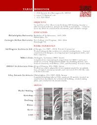Example Project Architect Resume Architects Resume Resume For Your Job Application