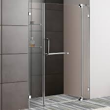 Frameless Shower Door Handle by Vigo Piedmont 36 X 36 In Frameless Neo Angle Shower Enclosure