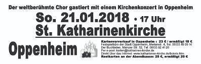 Bad Bergzabern Plz 55276 Oppenheim Don Kosaken Chor Wanja Hlibka