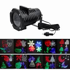halloween light projector outdoor waterproof white rgb led moving halloween christmas
