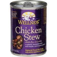 wellness chicken stew with peas u0026 carrots canned dog food petco