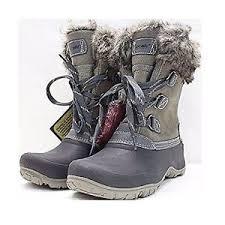 s khombu boots size 9 khombu leather slope winter boots size 9 grey w faux