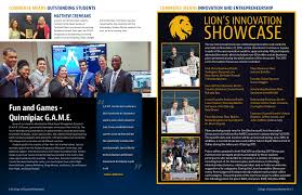 college of business newsletter luminous productions