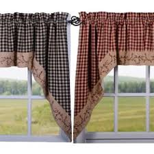 Primitive Kitchen Curtains Country Style Curtains Country Kitchen Curtains Primitive
