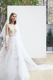 oscar de la renta lace wedding dress oscar de la renta bridal 2018 collection vogue